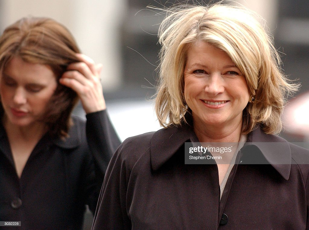 Martha Stewart Trial Continues In New York City : News Photo