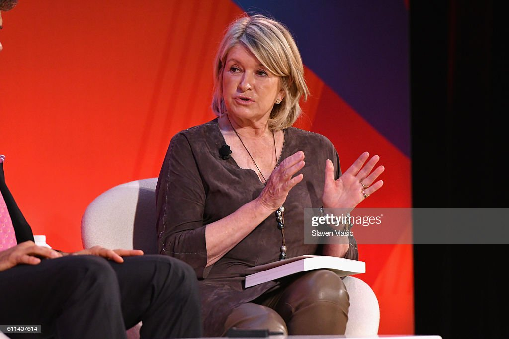 Martha Stewart speaks onstage at the Good Health is Good Business panel at The Town Hall during 2016 Advertising Week New York on September 29, 2016 in New York City.