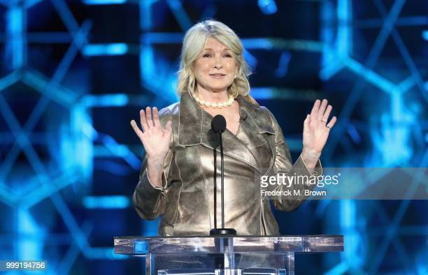 Martha Stewart speaks onstage during the Comedy Central Roast of Bruce Willis at Hollywood Palladium on July 14 2018 in Los Angeles California