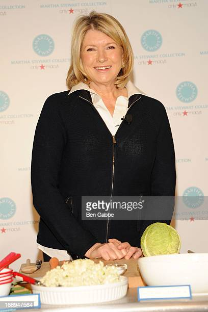 Martha Stewart visits at Macy's Herald Square on May 17 2013 in New York City