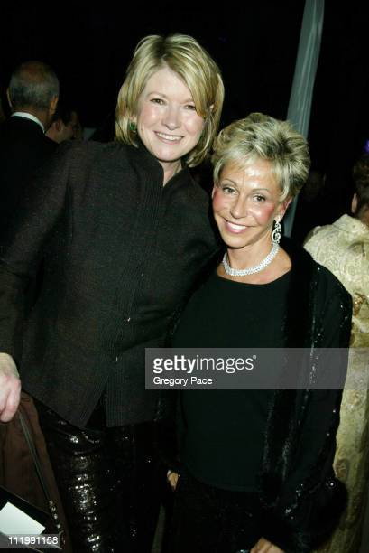 Martha Stewart with Jo Schuman