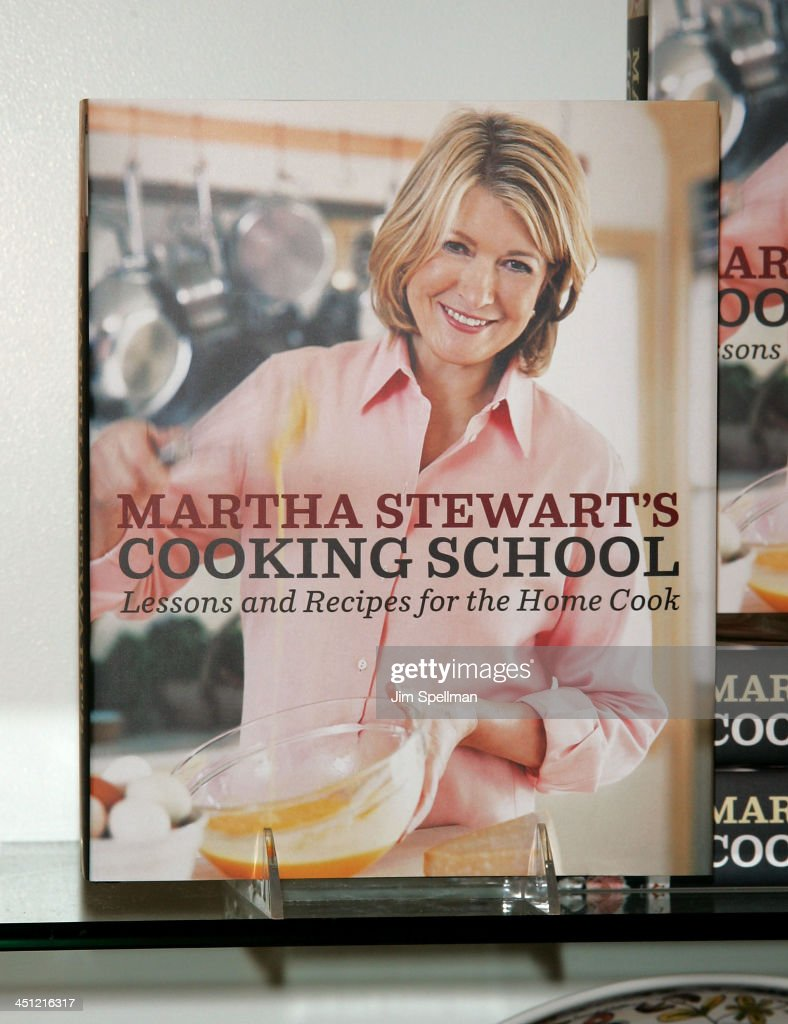 Martha Stewart Cooking School Book