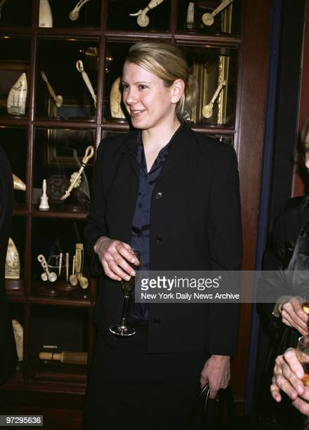 Martha Stewart's daughter Alexis is on hand for the opening of the 47th annual Winter Antiques Show at the Seventh Regiment Armory on Park Ave