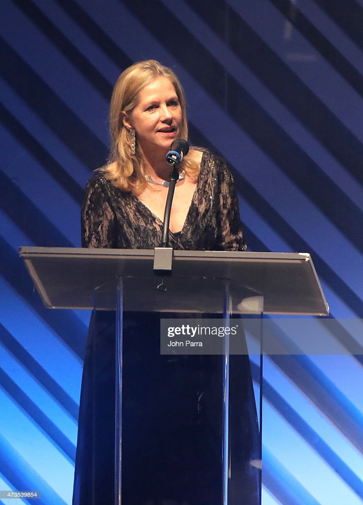 Martha Thorne onstage during Pritzker Architecture Prize 2015 at New World Symphony on May 15, 2015 in Miami Beach, Florida.
