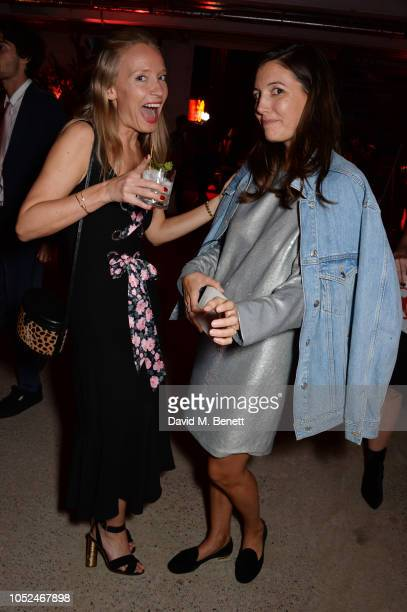 Martha Ward and Amanda Sheppard attend the Big Up Uganda fundraising gala for Save The Children hosted by Adwoa Aboah Felix Cooper at Wild By Tart...