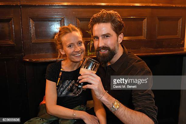 Martha Ward and Jack Guinness attend Frame Pub Quiz on November 16 2016 in London England