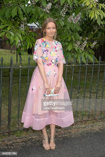 Martha Ward arrives for the Serpentine Summer Party at The Serpentine Gallery on July 6 2016 in London England
