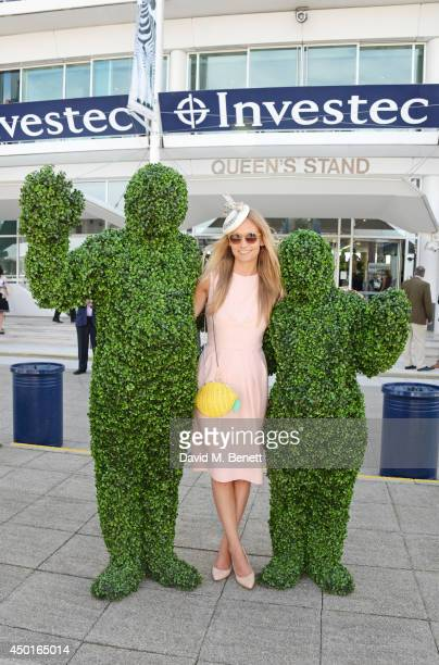 Martha Ward attends Ladies Day at the Investec Derby Festival at Epsom Downs Racecourse on June 6, 2014 in Epsom, England.