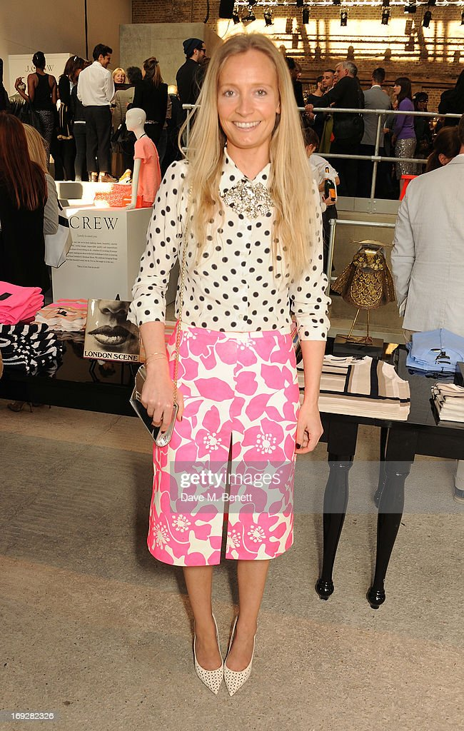 Martha Ward attends the J.Crew concept store to launch their partnership with Central Saint Martins College Of Arts And Design at The Stables on May 22, 2013 in London, England.