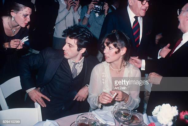Marthe Keller and Al Pacino circa 1970 New York