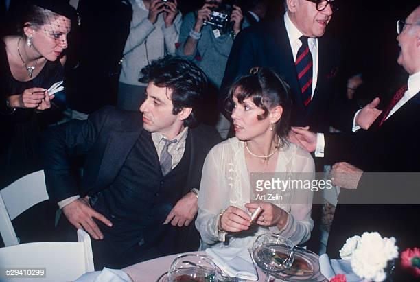 Marthe Keller and Al Pacino; circa 1970; New York.