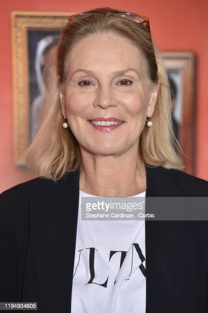 Marthe Keller attends The La Sainte Famille premiere at UGC Les Halles on December 19 2019 in Paris France
