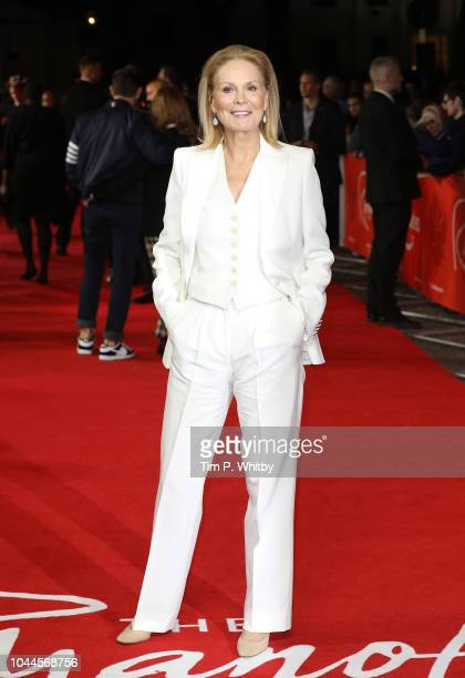 Marthe Keller attends the World Premiere of Amazon Prime Video's The Romanoffs at The Curzon Mayfair on October 2 2018 in London England