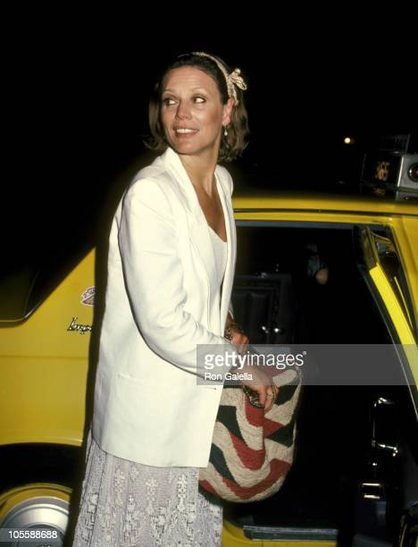 Marthe Keller during Marthe Keller at Elaine's Restaurant in New York City June 12 1984 at Elaine's Restaurant in New York City New York United States