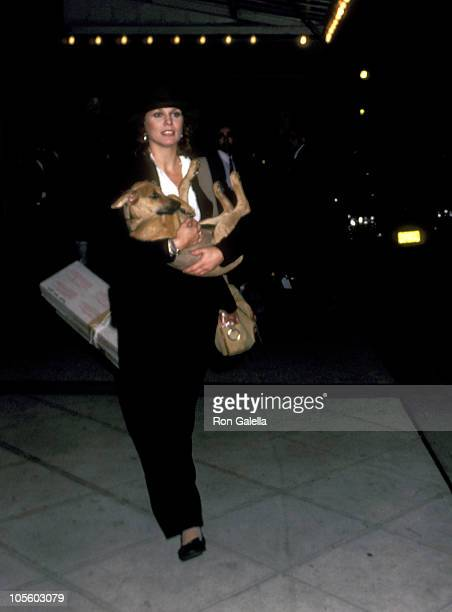 Marthe Keller during Marthe Keller at the Mayfair Regency Hotel in New York City - October 14, 1982 at Mayfair Regency Hotel in New York City, New...