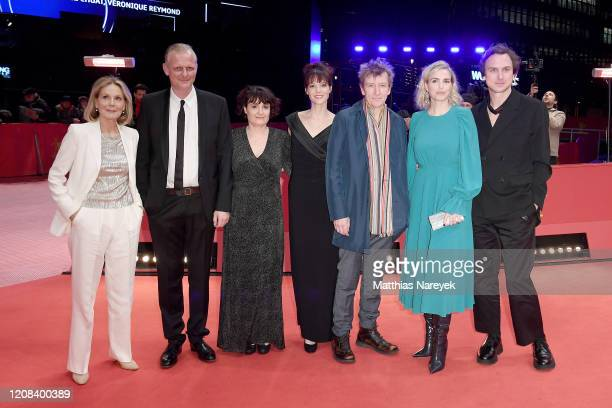 Marthe Keller Thomas Ostermeier director Stephanie Chuat director Veronique Reymond Jens Albinus Nina Hoss and Lars Eidinger pose at the My Little...