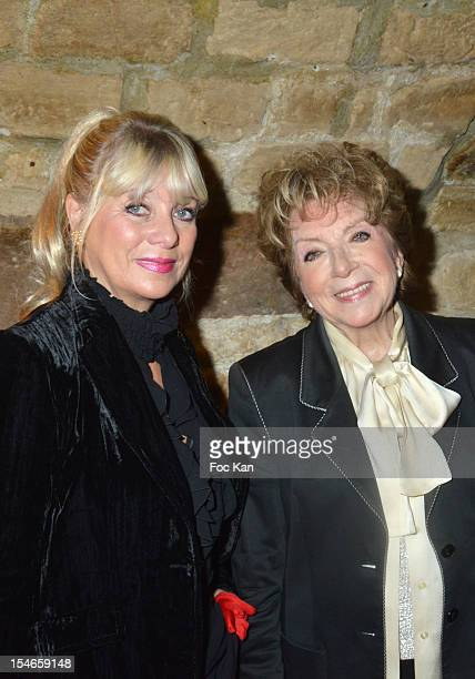Marthe Mercadier and her daughter Veronique Nery Mercadier attend the 'Les 10 Ans de Marc Mitonne' Party Hosted by '2 Mains Rouges' at the Marc...