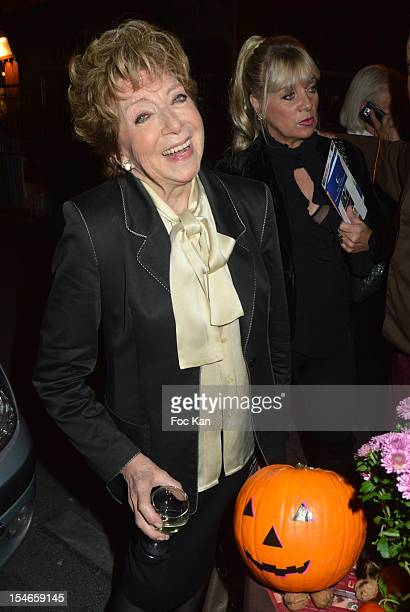 Marthe Mercadier attends the 'Les 10 Ans de Marc Mitonne' Party Hosted by '2 Mains Rouges' at the Marc Mitonne Restaurant on October 23 2012 in Paris...