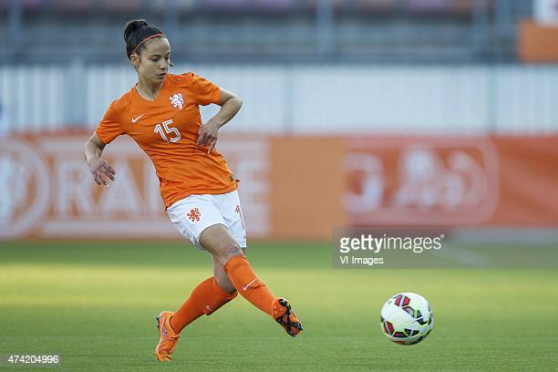 Marthe Munsterman of Holland during the International friendly match prior to the FIFA Women's World Cup Canada 2015 between Netherlands women and...