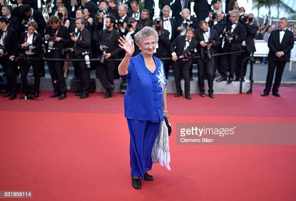 Marthe Villalonga attends the Julieta premiere during the 69th annual Cannes Film Festival at the Palais des Festivals on May 17 2016 in Cannes France