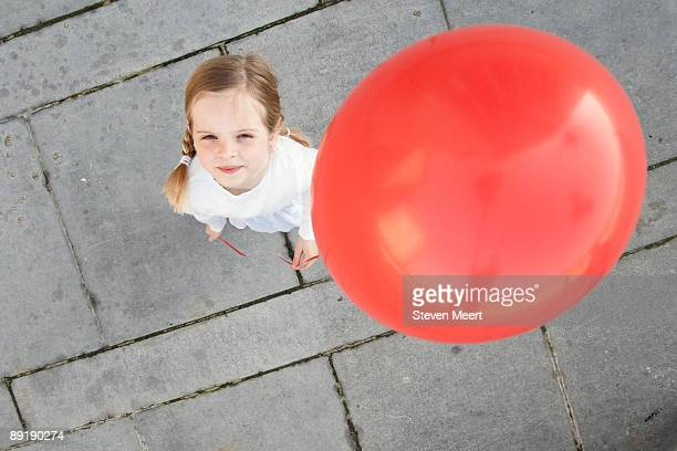 marthe with balloon as seen from above