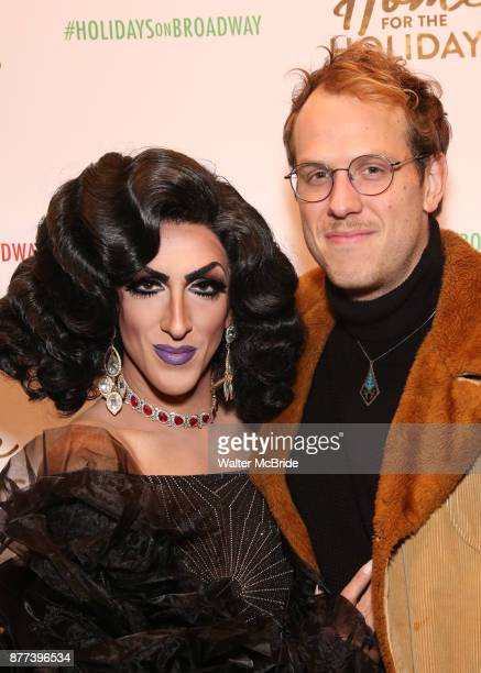 Marti Gould Cummings and husband Blake Allen attend the Broadway Opening Night performance of 'Home for the Holidays The Broadway Concert...