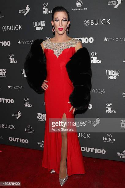 Marti Gould Cummings attends Out100 2014 presented by Buick on November 20 2014 in New York City