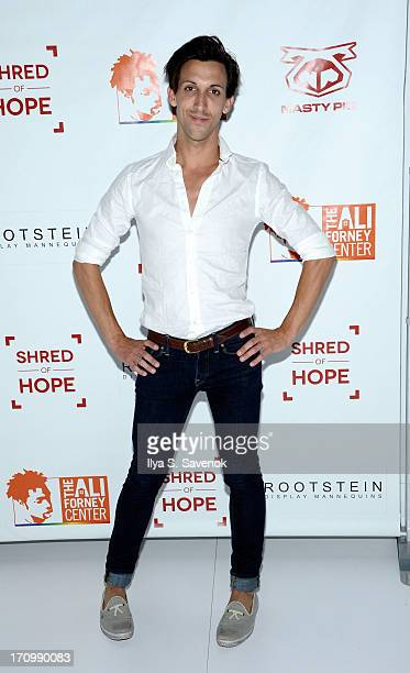 Marti Gould Cummings attends 'Shred Of Hope' Fundraiser benefiting the Ali Forney Center at Rootstein Gallery on June 20 2013 in New York City