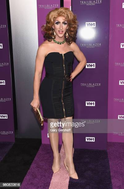 Marti Gould Cummings attends the 2018 VH 1 Trailblazer Honors at Cathedral of St John the Divine on June 21 2018 in New York City