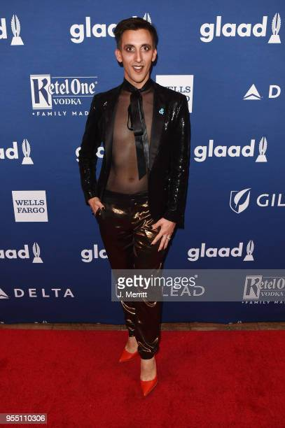 Marti Gould Cummings attends the 29th Annual GLAAD Media Awards at The Hilton Midtown on May 5 2018 in New York City