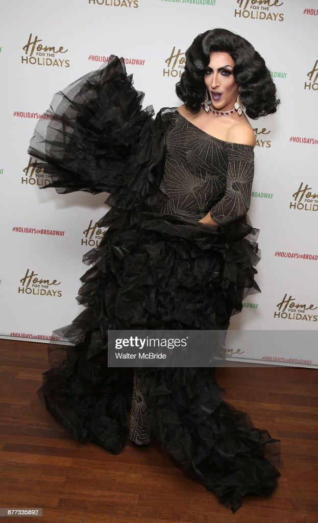 Marti Gould Cummings attends the Broadway Opening Night after party for 'Home for the Holidays - The Broadway Concert Celebration' at the Copacabana in New York City.