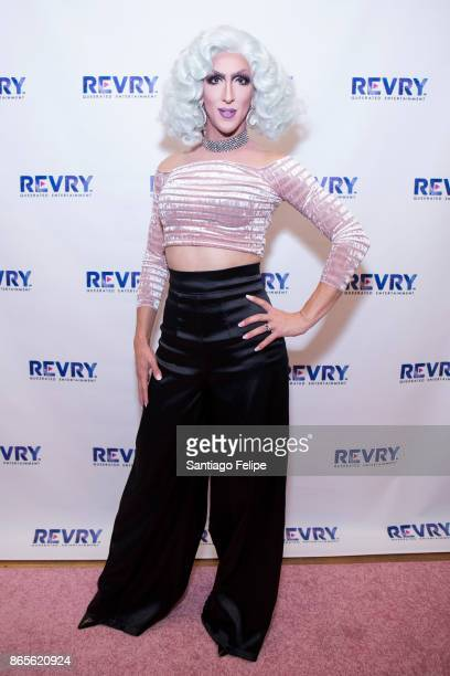 Marti Gould Cummings attends 'The Drag Roast Of Sherry Vine' at The LGBT Community Center on October 23 2017 in New York City