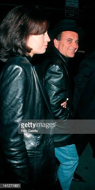 Marti Harro and Joe Pesci at the Premiere of 'Meet Joe Black', Ziegfeld Theater, New York City.