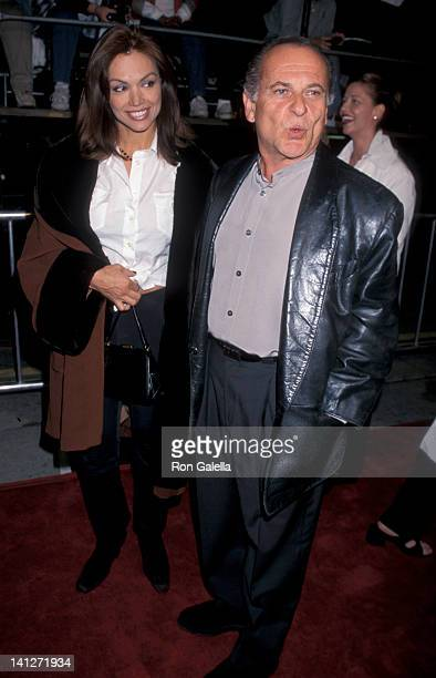 Marti Harro and Joe Pesci at the Premiere of 'The World Is Not Enough', Mann Village Theater, Westwood.