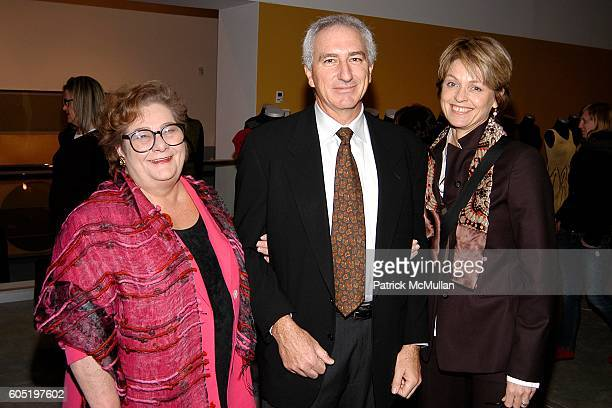 Marti Mayo Howard Robinson and Beverly Robinson attend Andrea Zittel Opening at New Museum of Contemporary Art on January 25 2006 in New York City