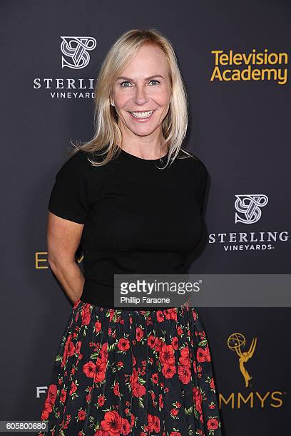 Marti Noxon attends cocktail reception for The Television Academy's Writers Peer Group at Saban Media Center on September 14 2016 in North Hollywood...