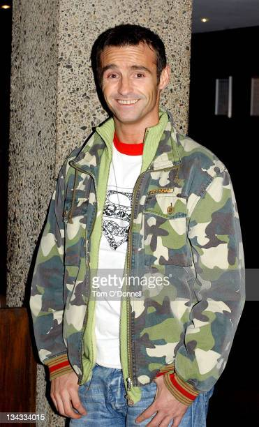 Marti Pellow during Westlife's Marti Pellow and Sarah Ferguson On Late Late Show in Dublin at RTE Studios in Dublin Ireland