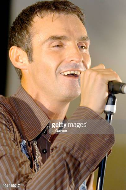 Marti Pellow during Wet Wet Wet Greatest Hits Tour Press Launch at Adam Street Private Members Club in London Great Britain