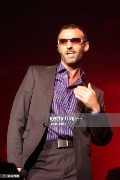 Marti Pellow of Wet Wet Wet during Wet Wet Wet perform at The Summer Pops July 3 2005 in Liverpool Great Britain