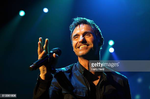 Marti Pellow of Wet Wet Wet performs at BIC on March 2 2016 in Bournemouth England