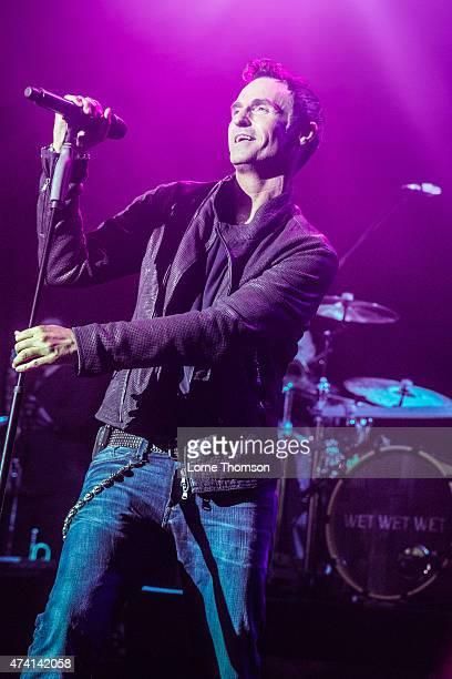 Marti Pellow of Wet Wet Wet performs at KOKO on May 20 2015 in London United Kingdom