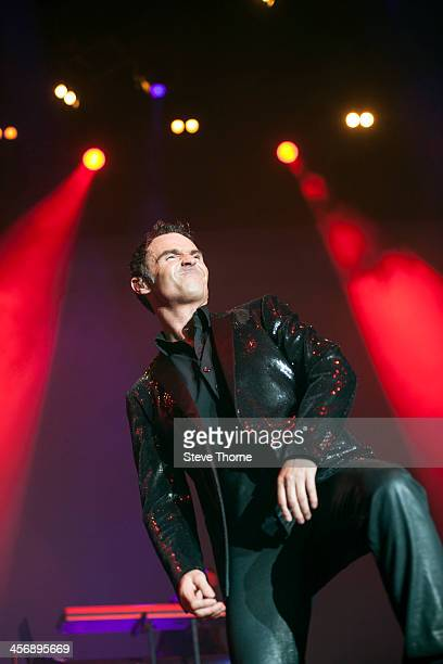 Marti Pellow of Wet Wet Wet performs on stage at LG Arena on December 15 2013 in Birmingham United Kingdom