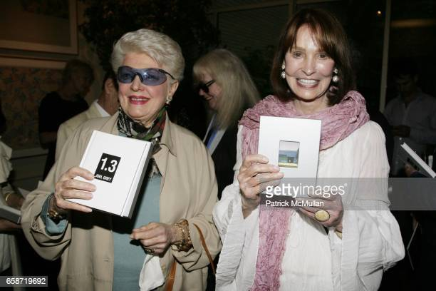 Marti Stevens and Gloria Vanderbilt attend the Reception Celebrating Joel Grey's New Book 13 IMAGES FROM MY PHONE at Michael's on June 3 2009 in New...