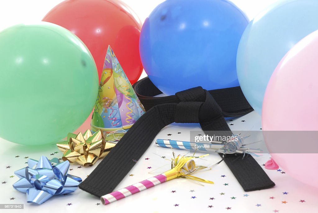 Martial art celebration : Stock Photo