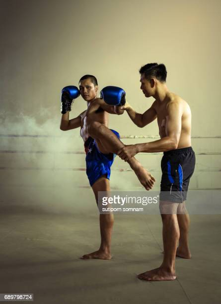 Martial Art Muay Thai Coach Training Kickboxing