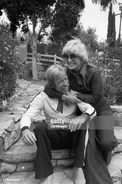 LOS ANGELES JANUARY 1978 Martial artist and star of action movies Chuck Norris at home in Palos Verdes California with his wife Dianne Kay Holechek...