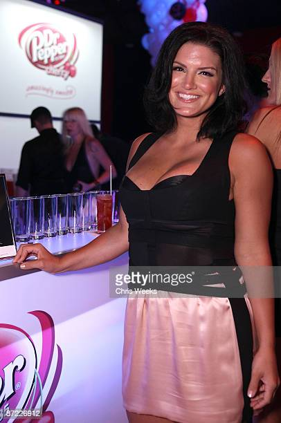 Martial artist Gina Carano attends Maxim's 10th Annual Hot 100 Celebration Presented by Dr Pepper Cherry True Religion Brand Jeans Stolichnaya Vodka...