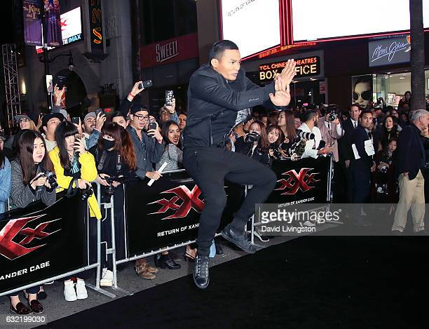 Martial artist Tony Jaa attends the premiere of Paramount Pictures' 'xXx Return of Xander Cage' at TCL Chinese Theatre IMAX on January 19 2017 in...