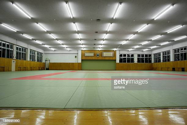 martial arts dojo - judo stock photos and pictures