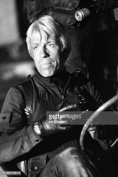 LOS ANGELES JANUARY 1 1978 Martial arts film actor and screenwriter Chuck Norris on the set of his second movie and first major hit Good Guys Wear...